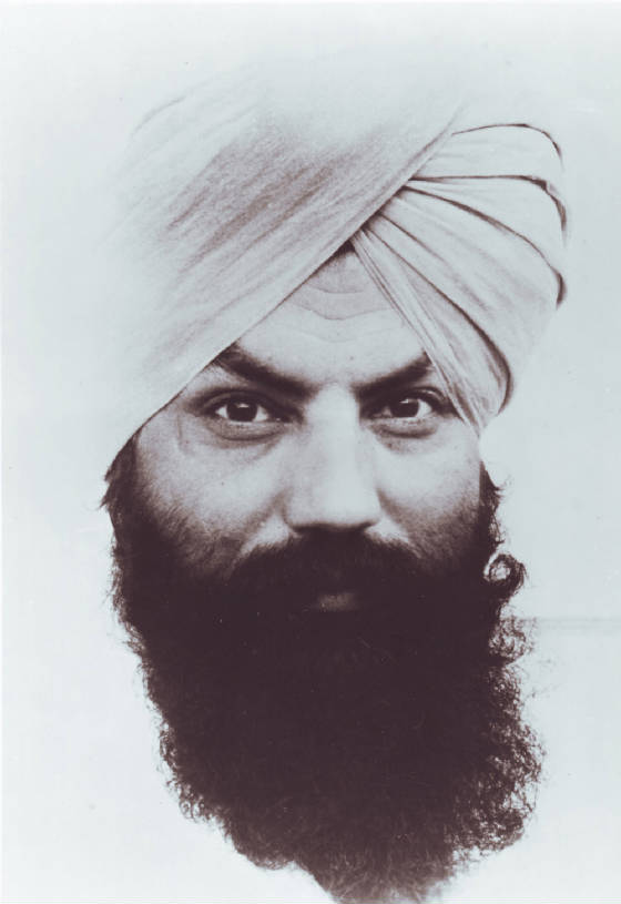 Tratakam Photo of Yogi Bhajan